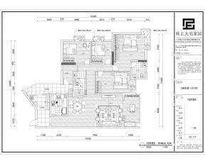 小型別墅戶型圖 四房兩廳戶型圖