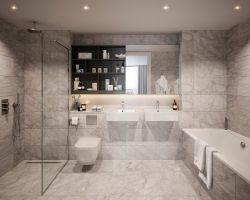 三室一廳衛浴間家裝設計圖片