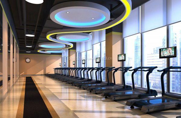 健身房吊頂裝飾效果圖