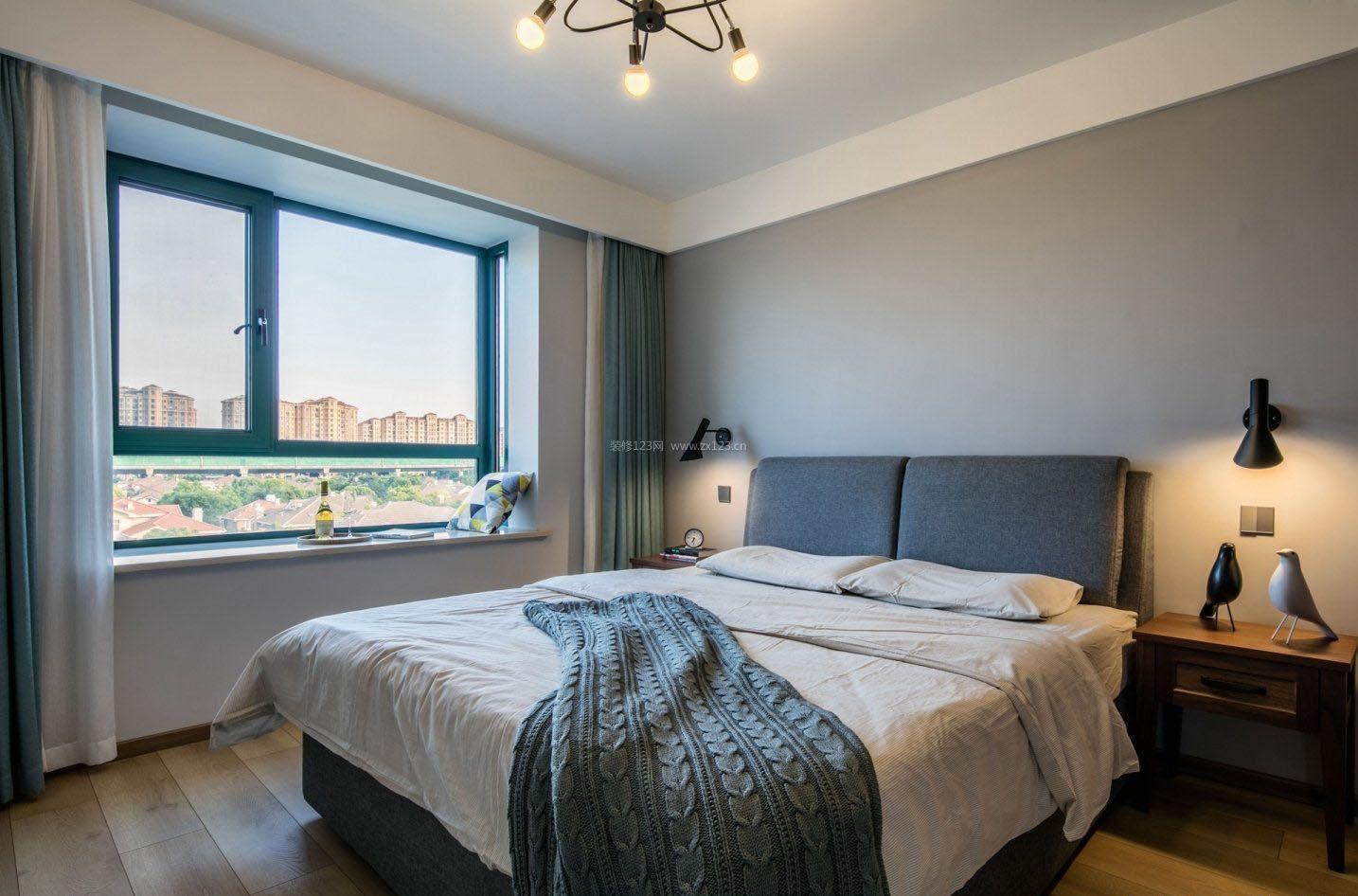 六十平米房子卧室壁灯装修设计效果图
