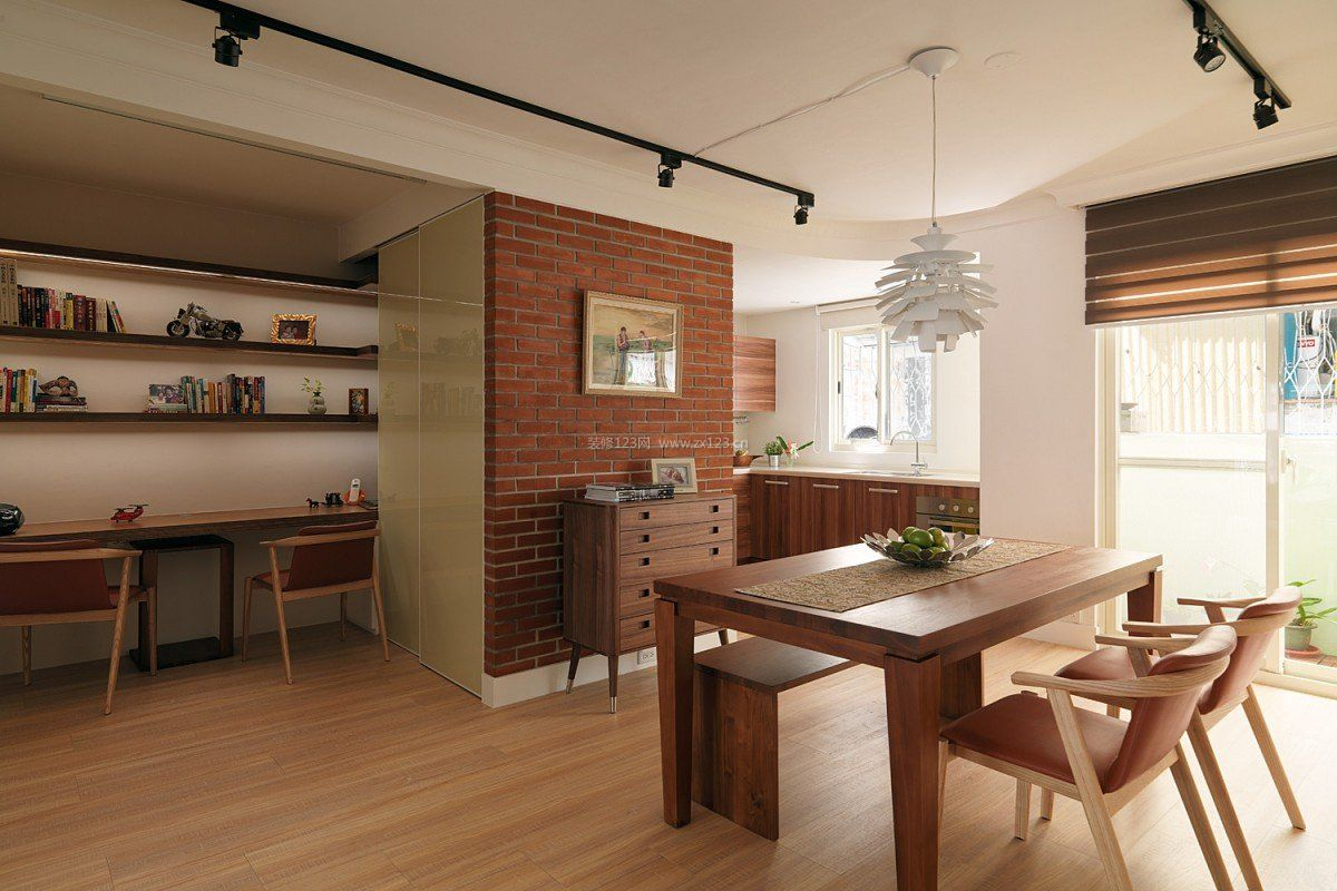 六十平米房子室内射灯装修设计效果图