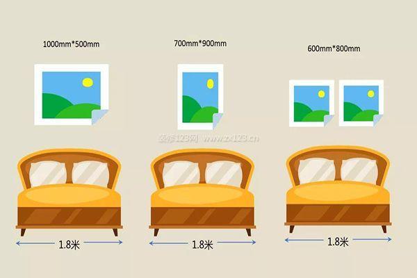 卧室的挂画尺寸