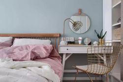 現代北歐風格臥室梳妝臺設計裝修效果圖片