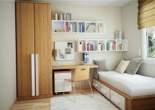 超实用的小户型卧室设计要点 小卧室也能拥有大空间