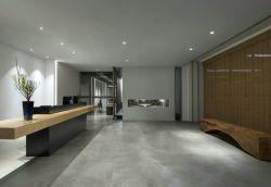 大型辦公室極簡風格裝潢設計圖片
