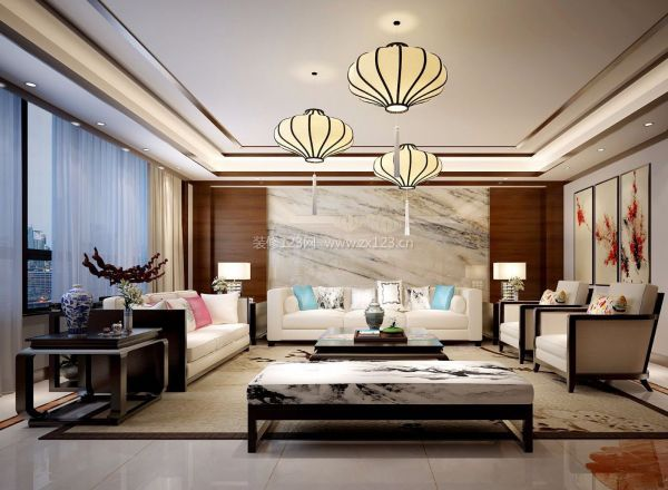 北京装修网 装修风格 >  中式风格 > 中式客厅吊顶如何设计 让你眼前