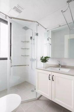 現代北歐風格整體衛浴間裝修效果圖片
