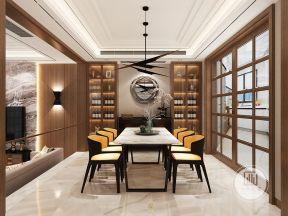 现代餐厅餐厅装修效果图2018酒柜空间设计图内部别墅别墅图片