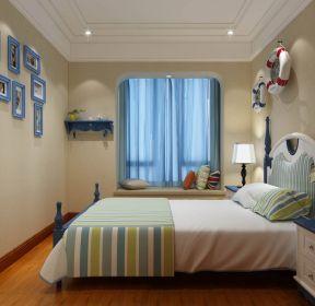 田园地中海风格卧室装修照片 1499 2020地中海风格客厅照片墙装修效果