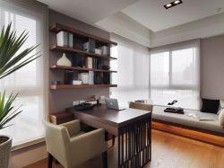 書房沙發榻榻米設計效果圖片