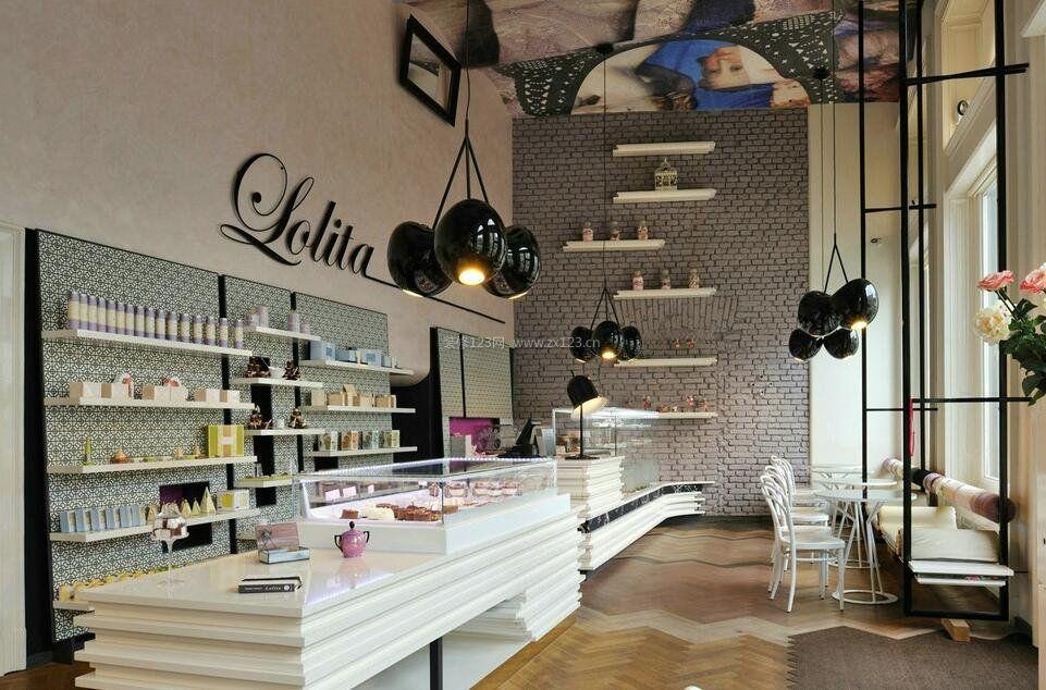 甜点店创意灯具装修效果图一览