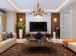現代簡約客廳墻面顏色裝飾圖片