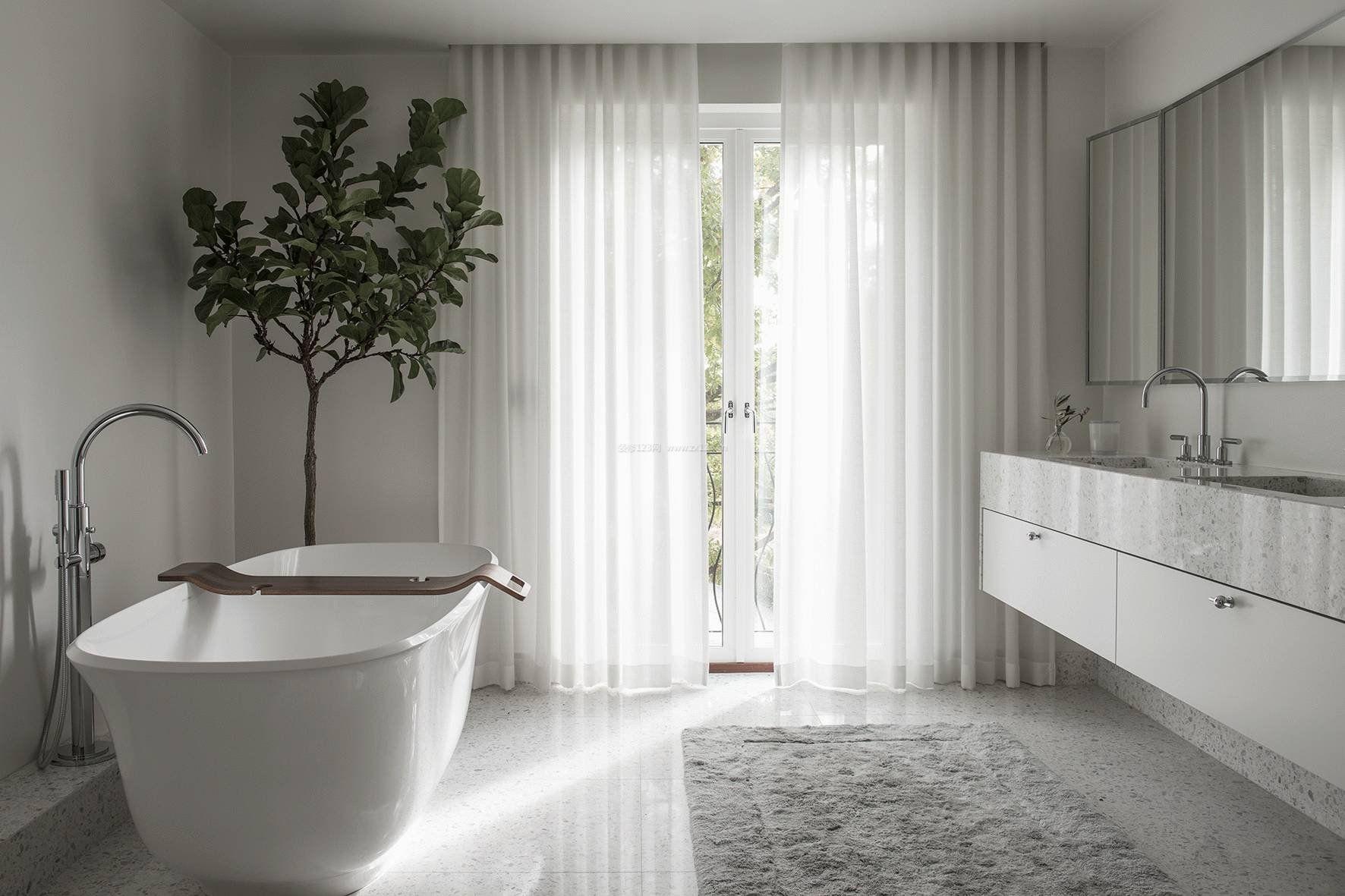 温馨浴室装修效果图