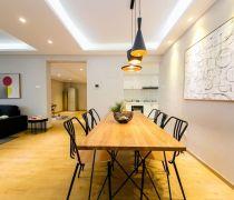 温馨家装室内实木地板安装图片