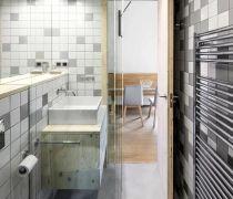 小户型家装卫生间毛巾架安装图