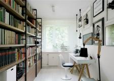 小户型书房怎么装修 小书房布置原则