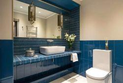 中小戶型家裝衛生間洗手臺鏡前燈效果圖