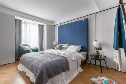 2018北歐臥室床頭軟包背景墻裝修效果圖