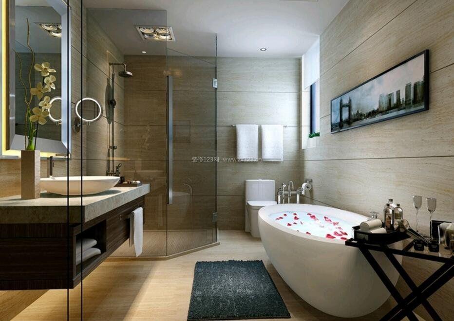 家庭洗手间设计图