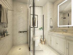 130平米户型的卫生间装修图