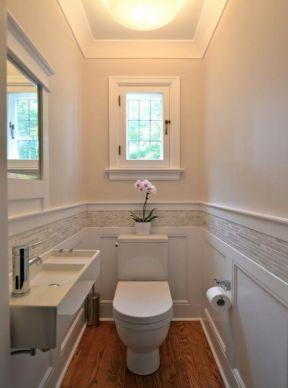 2018卫生间墙裙效果图 4平方卫生间装修效果图欣赏