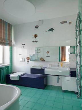 衛生間地面瓷磚貼 衛生間地面效果圖