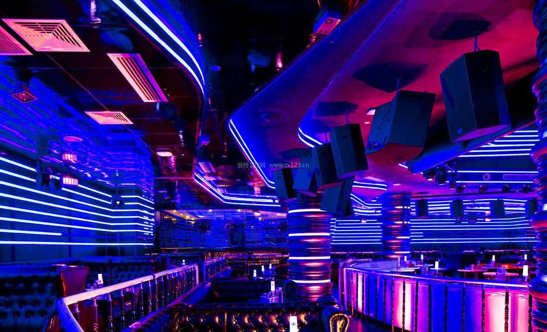 2018酒吧ktv室内灯光设计装修效果图片