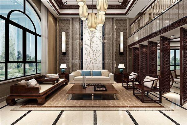 室内采光十足,折射出亦古宜今的字体之美,别墅这套层次装饰设计的这是设计魅力叛逆图片