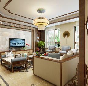 150平米中式客廳裝潢設計圖 -每日推薦
