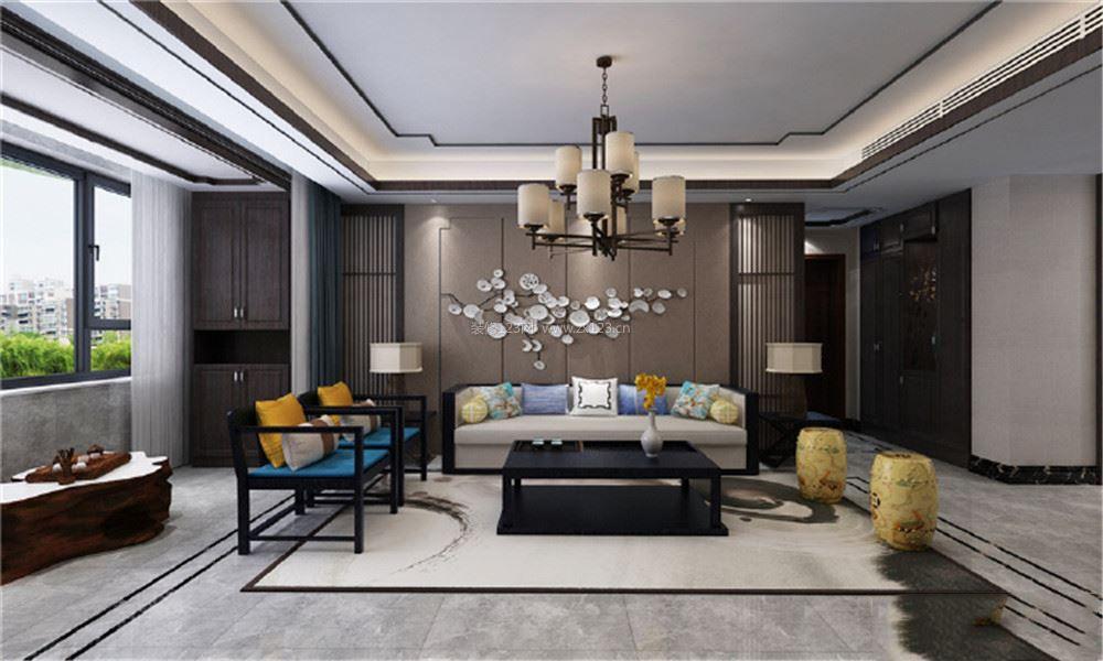 新中式卧室装修效果图大全2018图片 2018新中式卧室装修效果图