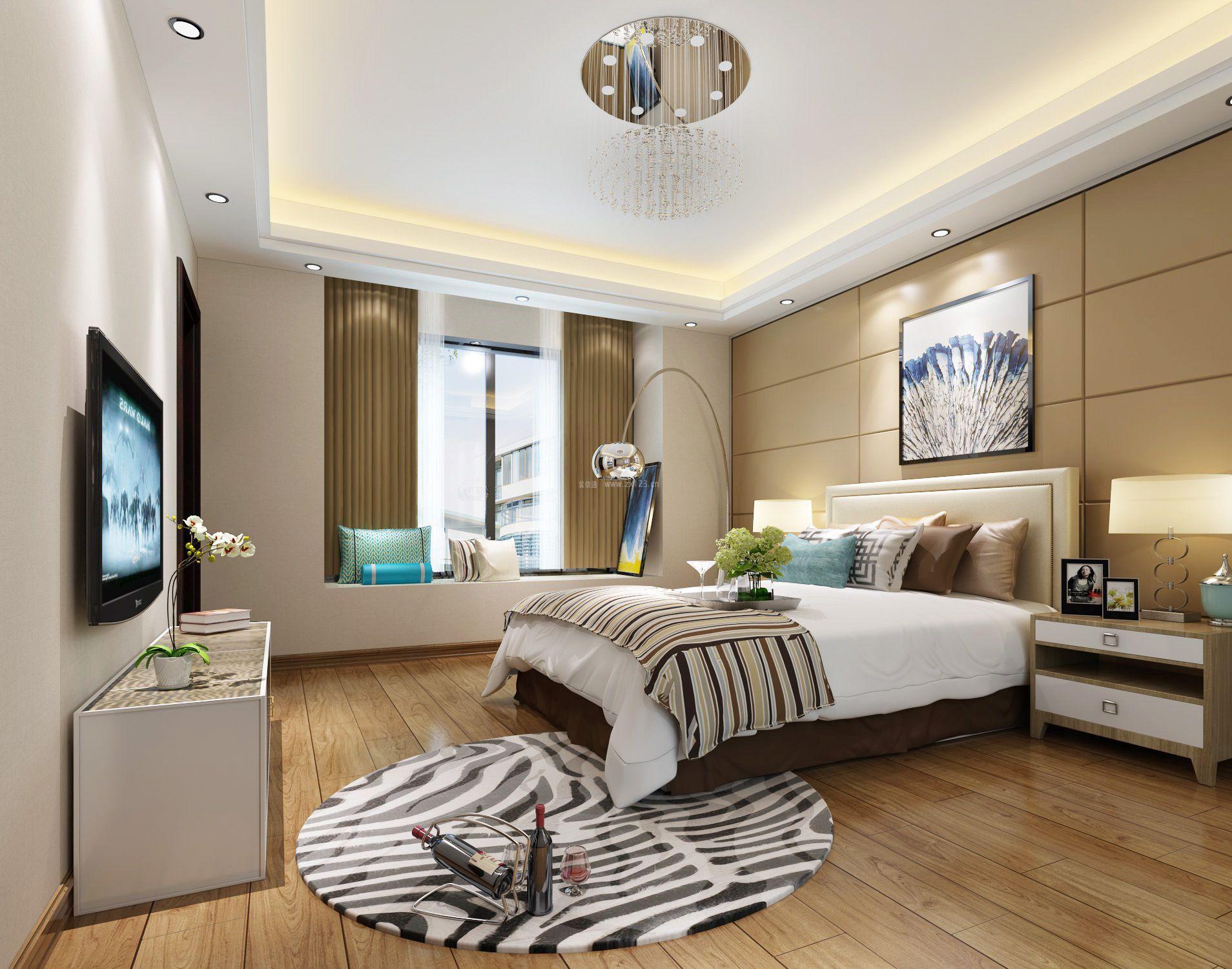 后现代家居简约卧室飘窗设计图片图片