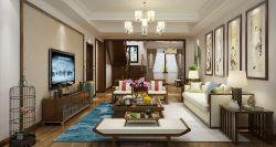 五渚河生態城350平復式會客廳裝修效果圖