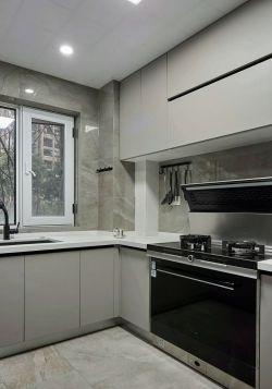 現代簡約風格三居室廚房裝修圖片