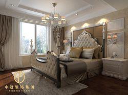 城市嘉苑140平米三居室歐式風格裝修臥室效果圖