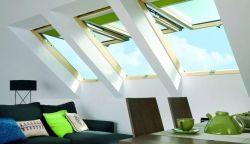 現代風格斜頂閣樓天窗裝修效果圖