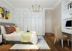 簡約歐式風格臥室白色衣柜裝修效果圖