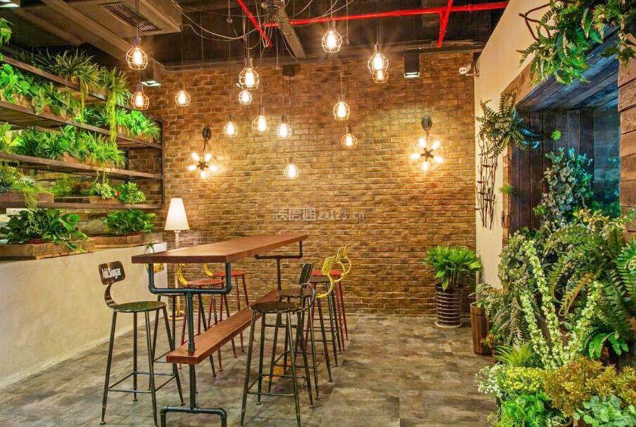 小型咖啡店室内大全设计图片盆栽平面设计工作内容图片