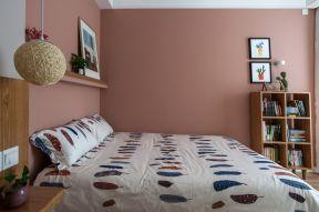 2018家庭臥室床單貼圖欣賞 臥室背景墻壁畫