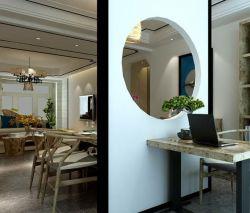 140平新中式風格四居餐廳書房隔斷裝修