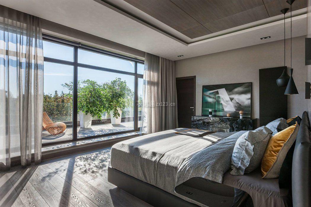 房屋卧室带阳台装修设计图大全
