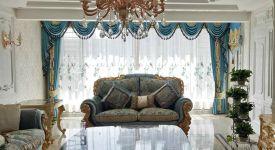 歐式風格窗簾如何選擇 歐式窗簾顏色搭配技巧