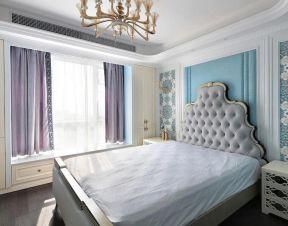 2020卧室飘窗阳台装修图片 欧式床设计