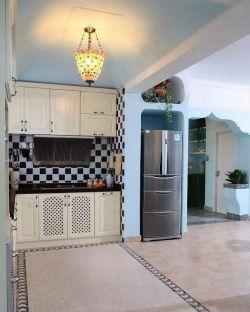 地中海家居廚房櫥柜裝修圖片賞析