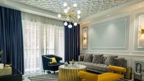 117平方米房子裝修 2018現代法式客廳圖片