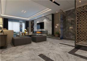 港式客廳電視墻裝修效果圖 港式客廳裝修