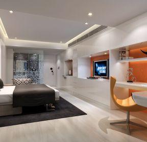公寓式住宅一居室整体装潢设计图片-每日推荐