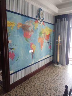 家裝兒童房墻面壁紙搭配圖片