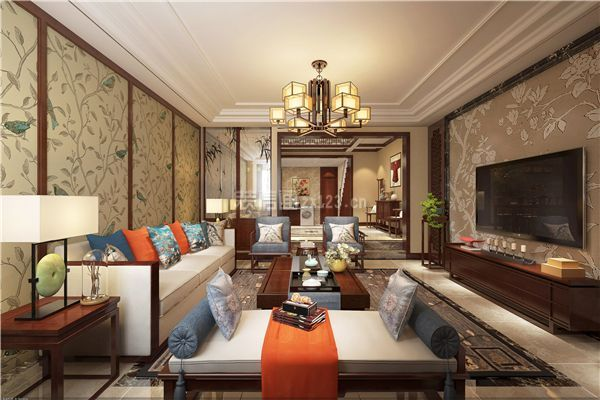 新中式风格客厅