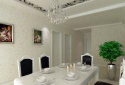 三豐187㎡歐式風格餐廳裝修案例