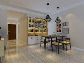 2020餐厅酒柜装修图片 2020家用餐厅酒柜装修效果图